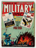 Golden Age (1938-1955):War, Military Comics #3 (Quality, 1941) Condition: VG....
