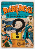 Golden Age (1938-1955):Superhero, Daredevil Comics #7 (Lev Gleason, 1942) Condition: GD/VG....