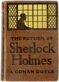 Books:Mystery & Detective Fiction, A[rthur] Conan Doyle. The Return of Sherlock Holmes. NewYork: A. Wessels Company, 1907....