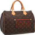 Luxury Accessories:Bags, Louis Vuitton Limited Edition Classic Monogram Canvas PerforatedSpeedy 30 Bag. Very Good to Excellent Condition ...