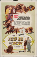 "Movie Posters:Documentary, The Golden Age of Comedy and Others Lot (DCA, 1958). One Sheet (27"" X 41""), Title Lobby Card (11"" X 14""), & Pressbooks (6) (... (Total: 8 Items)"
