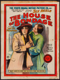 "Movie Posters:Drama, The House of Bondage (Photo Drama Motion Picture Co., 1914). Poster(21"" X 28.25""). Drama.. ..."