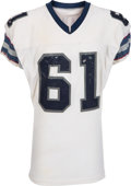 Football Collectibles:Uniforms, 1983-84 Eddie Weaver Game Worn Los Angeles Express USFL Jersey, MEARS A8....