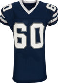 Football Collectibles:Uniforms, 1983-85 Mike Durrette Game Worn Los Angeles Express USFL Jersey, MEARS A8....