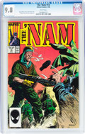 Modern Age (1980-Present):War, The 'Nam #14 (Marvel, 1988) CGC NM/MT 9.8 White pages....