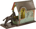 Antiques:Toys, Mule Entering Barn Mechanical Bank...