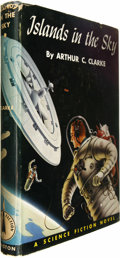 Books:Signed Editions, Arthur C. Clarke Signed: Islands in the Sky. (Philadelphia: John C. Winston, 1952), first edition, 209 pages, da...