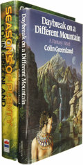 Books:Signed Editions, Colin Greenland: Two Signed First Editions.... (Total: 2 Items)