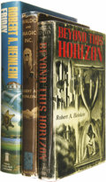 Books:Fiction, Robert Heinlein: Lot of Three Books.... (Total: 3 Items)
