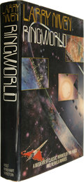 Books:Signed Editions, Larry Niven Signed: Ringworld. (New York: Holt, Rinehart andWinston, 1977), first US hardcover edition, 342 pages, oran...