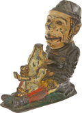 Antiques:Toys, Paddy and the Pig Mechanical Bank...