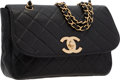 "Luxury Accessories:Bags, Chanel Black Caviar Leather Jumbo Single Flap Bag with Brushed GoldHardware. Good to Very Good Condition . 11.5"" Widt..."