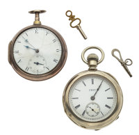 IWC & Silver Pair Case Pocket Watches Runners