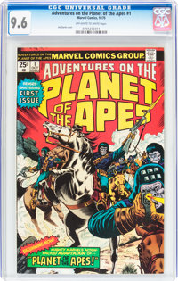 Adventures on the Planet of the Apes #1 (Marvel, 1975) CGC NM+ 9.6 Off-white to white pages
