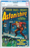 Golden Age (1938-1955):Horror, Astonishing #31 (Atlas, 1954) CGC VG/FN 5.0 Off-white to whitepages....