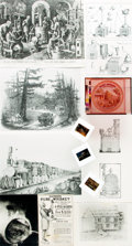 Books:Prints & Leaves, [Distilling/Distilleries]. Small Archive of Material Relating toDistilling and Distilleries. May include photographic repro...