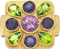 Estate Jewelry:Rings, Multi-Stone, Gold Ring. ...