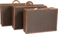 "Luxury Accessories:Accessories, Louis Vuitton Set of Three; Classic Monogram Canvas Trunks. FairCondition. Trunk 1: 23.5"" Width x 16.5"" Height x 6.5"" Dep...(Total: 3 Items)"