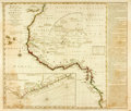 Books:Maps & Atlases, [Maps]. [Africa]. Bowles's New Pocket Map of the Coast of Africa, from Sta. Cruz, Lat. 30° N. to Angola, Lat. 11° S. wit...