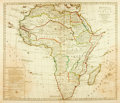 Books:Maps & Atlases, [Maps]. [Africa]. Bowles's New Pocket Map of Africa, Divided Into it's Kingdoms, States, Republics and Other Subdivision...