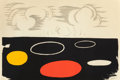 Fine Art - Work on Paper:Print, ALEXANDER CALDER (American, 1898-1976). Flat World, circa1970. Lithograph in colors. 30 x 45-1/4 inches (76.2 x 115.1 c...