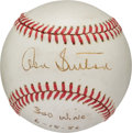 Baseball Collectibles:Balls, 1986 Don Sutton 300th Win Game Used & Signed Baseball....