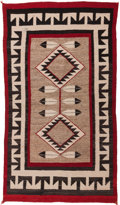 American Indian Art:Weavings, A NAVAJO REGIONAL RUG. c. 1925. ...