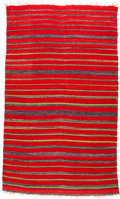 American Indian Art:Weavings, A RIO GRANDE WEAVING. c. 1890...