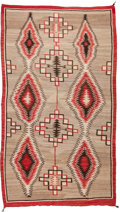American Indian Art:Weavings, A NAVAJO REGIONAL RUG. c. 1930. ...