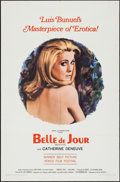 "Movie Posters:Foreign, Belle de Jour (Allied Artists, 1968). One Sheet (27"" X 41""). Foreign.. ..."