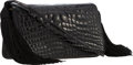 "Luxury Accessories:Bags, Judith Leiber Black Alligator Shoulder Bag with Tassel. VeryGood Condition . 7"" Width x 4.5"" Height x 2"" Depth . ..."