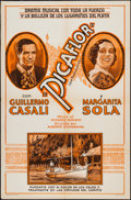 """Movie Posters:Foreign, Picaflor (ECA, 1935). One Sheet (27"""" X 41""""). Foreign.. ..."""