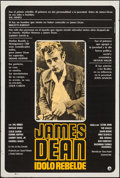 "Movie Posters:Documentary, James Dean: The First American Teenager (Gamo, 1976). Argentinean Poster (29"" X 43""). Documentary.. ..."