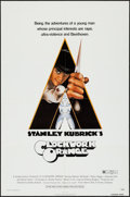 """Movie Posters:Science Fiction, A Clockwork Orange (Warner Brothers, 1971). One Sheet (27"""" X 41"""") R-Rated Version. Science Fiction.. ..."""