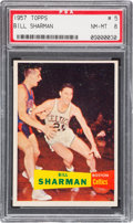 Basketball Cards:Singles (Pre-1970), 1957 Topps Bill Sharman #5 PSA NM-MT 8....