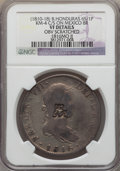 British Honduras, British Honduras: British Colony Counterstamped 6 Shilling 1 Penny ND (1810-18) VF Details (Obverse Scratched) NGC,...