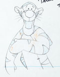 Animation Art:Production Drawing, The New Adventures of Winnie the Pooh Tigger AnimationDrawing (Walt Disney, 1988)....