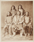 American Indian Art:Photographs, PHOTOGRAPH OF UTE CHIEFS ...