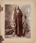 American Indian Art:Photographs, PHOTOGRAPH OF SPOTTED TAIL - SIOUX...
