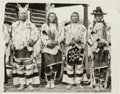 American Indian Art:Photographs, FOUR PHOTOGRAPHS OF CROW INDIAN SUBJECTS... (Total: 4 )