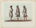 American Indian Art:Photographs, EIGHT COLORED LITHOGRAPHS OF SOUTHWEST INDIANS... (Total: 8 )