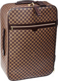 "Luxury Accessories:Travel/Trunks, Louis Vuitton Damier Ebene Canvas Pegase 65 Suitcase Bag. VeryGood to Excellent Condition. 18"" Width x 26"" Height x9..."