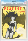 Magazines:Miscellaneous, Playboy #3 (HMH Publishing, 1954) CGC FN+ 6.5 White pages....