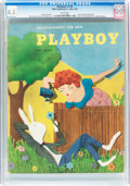 Magazines:Vintage, Playboy #6 (HMH Publishing, 1954) CGC VG+ 4.5 White pages....