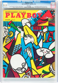 Magazines:Vintage, Playboy #10 (HMH Publishing, 1954) CGC VF 8.0 White pages....