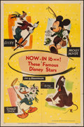 "Movie Posters:Animation, Walt Disney's Cartoon Short Subjects (RKO, 1951). Stock One Sheet (27"" X 41""). Animation.. ..."