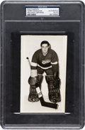 Hockey Collectibles:Photos, Early 1950's Terry Sawchuk Signed Photograph, PSA/DNA Authentic....
