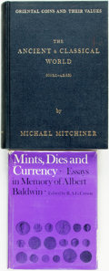 Books:Reference & Bibliography, [Numismatics]. Michael Mitchiner. Oriental Coins and TheirValues: The Ancient & Classical World, 600 B.C. - A.D.650.... (Total: 2 Items)