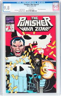 Modern Age (1980-Present):Superhero, The Punisher War Zone #1 (Marvel, 1992) CGC NM/MT 9.8 White pages....