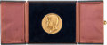 Massive 14-karat Gold Medal from the Dedication of the Kennedy Center for the Performing Arts
